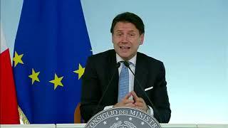 Copasir, Giuseppe Conte dichiarazioni alla stampa 23/10/19