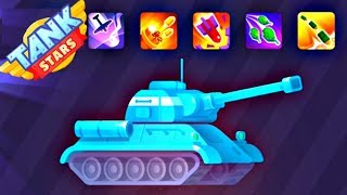 Tank Stars UPDATE - T-34 New Tank | KAMIKAZE Booster | Android GamePlay FHD