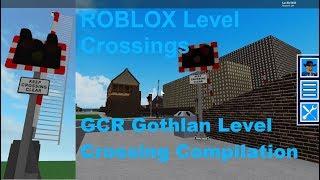 ROBLOX GCR Gothlan nível Crossing compilação