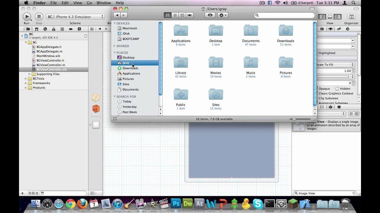 Background image xcode 6 - Xcode Setting A Background Image