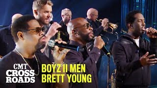 'In Case You Didn't Know' Boyz II Men & Brett Young | CMT Crossroads