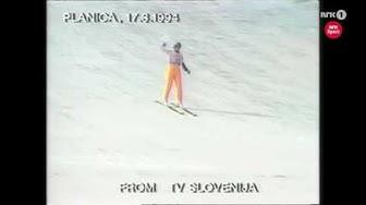 Toni Nieminen - 203 m - Planica 1994