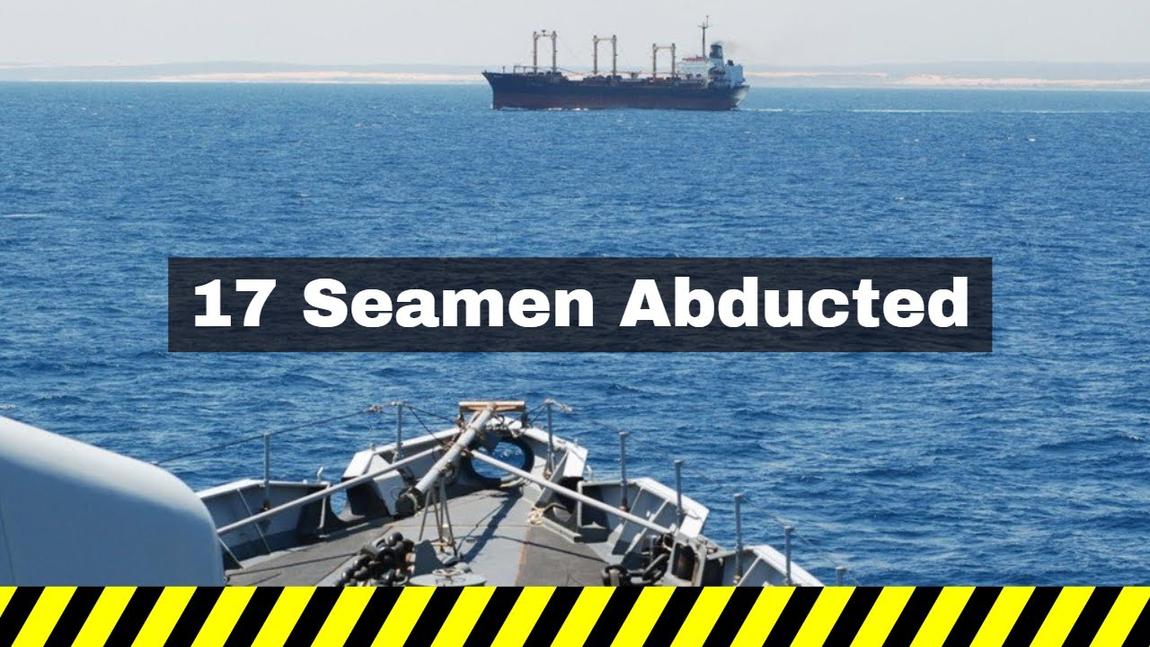 Healines With A Voice Security Alert Issued to all Vessels off Cameroon