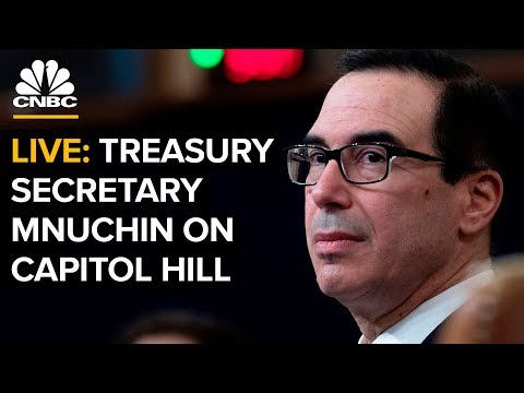 Treasury Secretary Mnuchin Testifies Before House Finance Committee — April 9, 2019