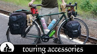 best bicycle touring accessories - the ultimate touring bike ✔