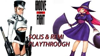 Groove on Fight | ARCADE | SOLIS & REMI | PLAYTHROUGH