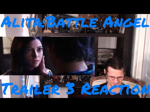 Alita: Battle Angel Trailer 3 Reaction