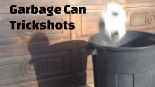 Garbage Can Trickshots