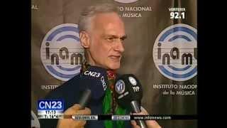 CN23 – Gustavo Spinetta en la presentación de