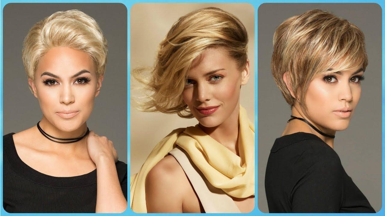 3835603f7 ✨ Top 20 modelli di taglio capelli corti biondi - YouTube