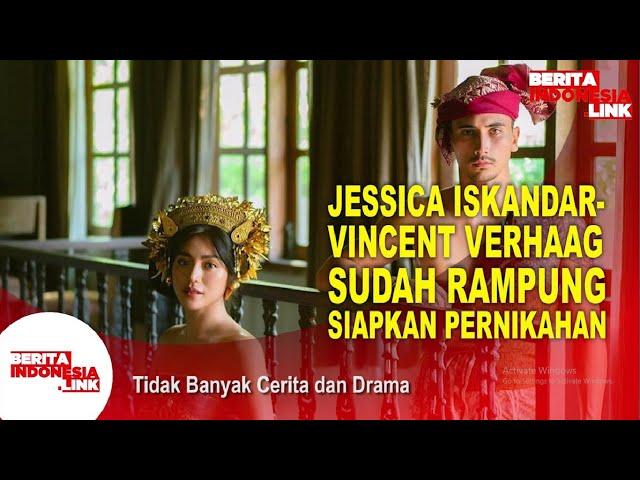 Jessica Iskandar & Vincent Verhaag Menikah Hari Ini