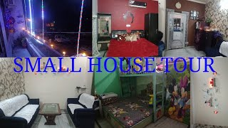 Small house tour // 2 bhk decoration and interiors // Diwali decoration