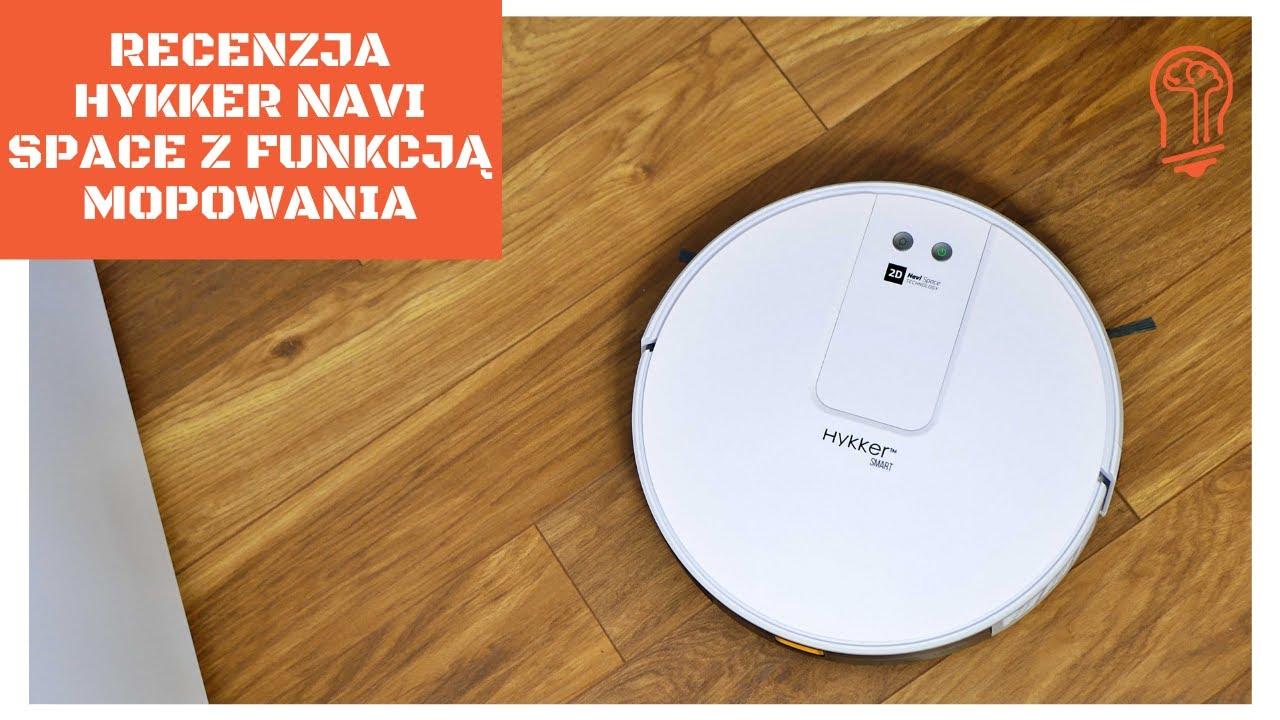 Recenzja Hykker Navi Space z funkcją mopowania – tani robot sprzątający z Biedronki (od 22 lipca) 🤓🐞