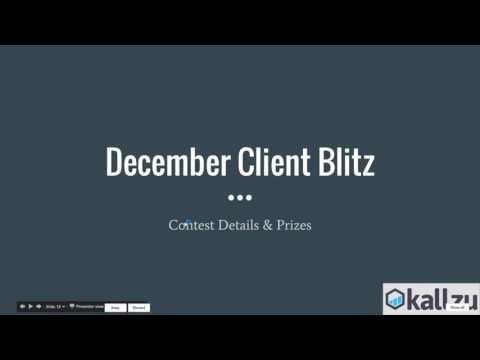 Kallzu Adwords Call #6 Getting Clients! 12-28-2016