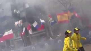 DRAMATICAS EXPLOSIONES EN BOSTON