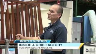 good morning america features delta s safety lab crib safety