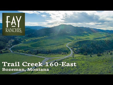 Montana Land For Sale | 161± Acres | Trail Creek 160-East | Bozeman Livingston MT Area