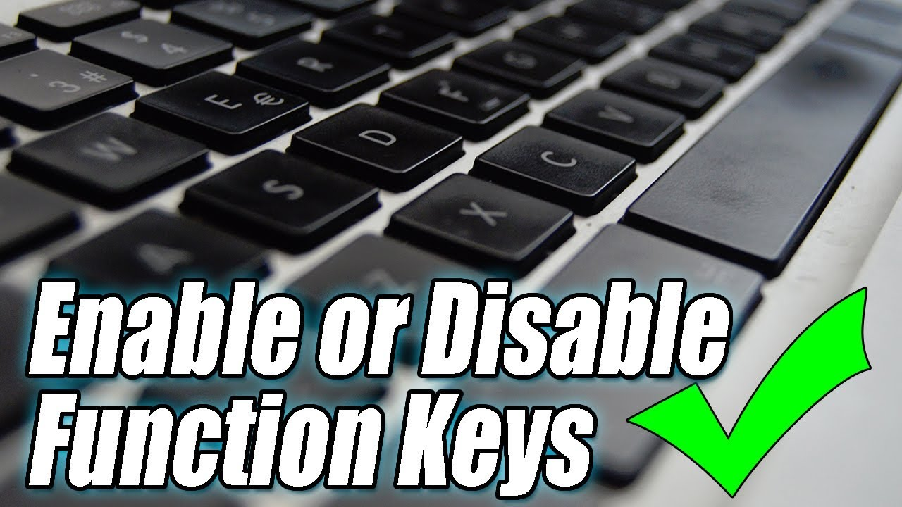 How To Enable \u0026 Disable FN Key On Laptop | Enable or Disable
