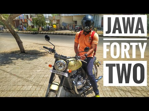 Jawa Forty Two || When A Pulsar Guy Rides A Jawa Forty Two🔥🔥🔥