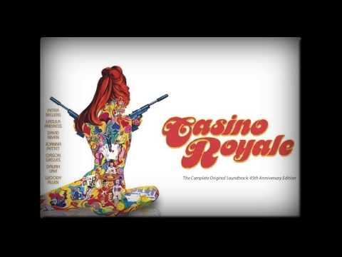 Video Casino royale soundtrack 1967