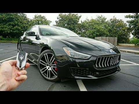 2019 Maserati Ghibli SQ4: Start Up, Test Drive, Walkaround and Review