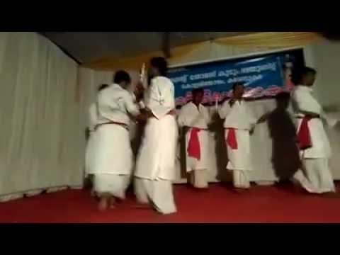 Devotional Kolkali Performed at St Thomas Unit Karottukara Church