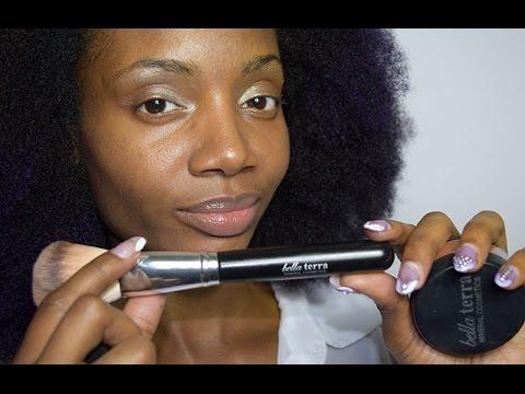 Bella Terra Mineral Cosmetics: Foundation, Bronzer, Lip Gloss, Brushes