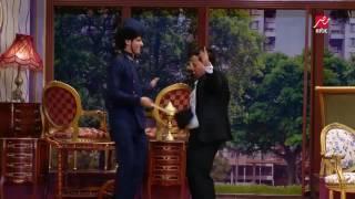 كريم عفيفي ومحمد أنور يتنكران في ملابس عريس وعروسة    وحمدي المرغني دي عروسة المولد