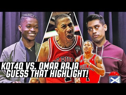 GUESS THAT DERRICK ROSE HIGHLIGHT  KOT4Q vs OmarHoH