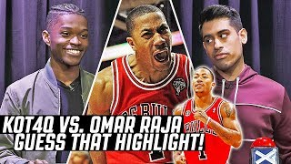 Kenny 'KOT4Q' Beecham, star of the 'Through The Wire' podcast and Chicago-based YouTuber claims he can beat Omar Raja, founder of House of Highlights ...