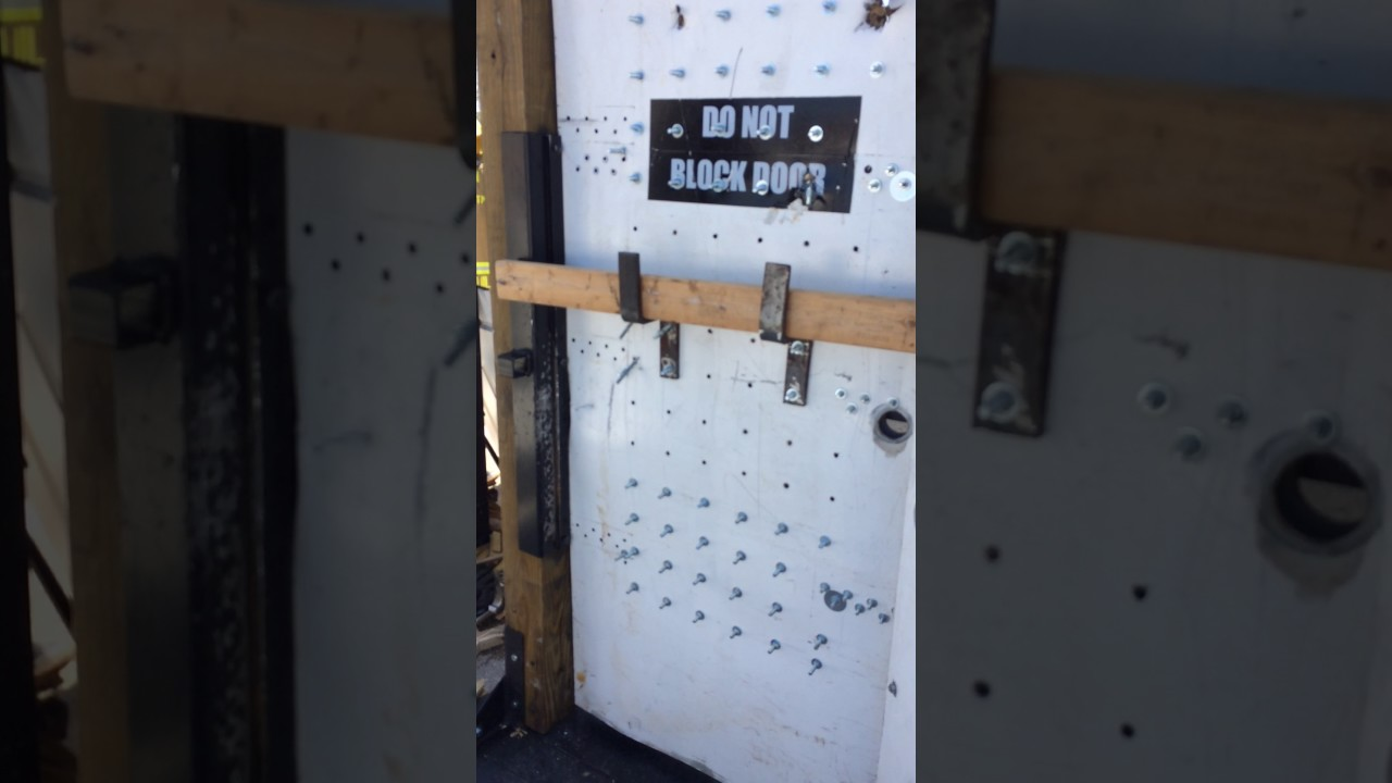 Woods Forcible Entry Door Kit Youtube