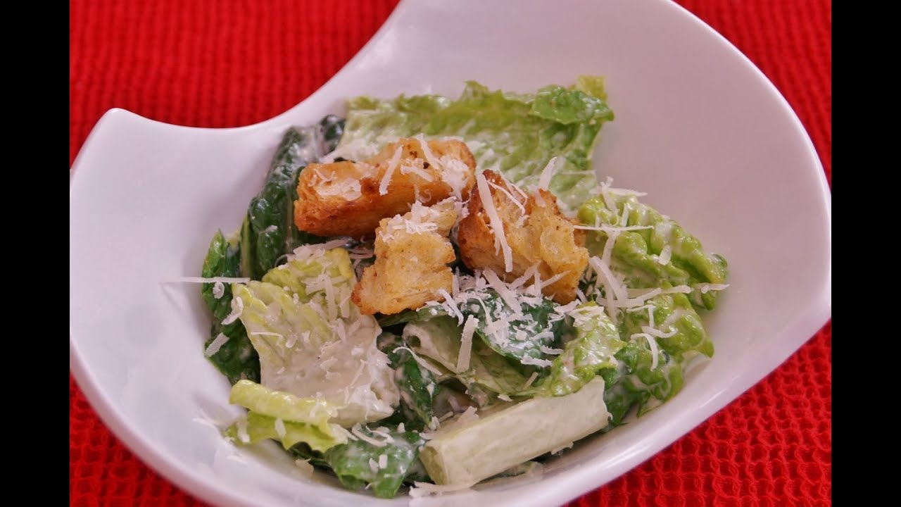 caesar salad recipe caesar salad dressing how to make mom 39 s best easy homemade dishin 39 with di. Black Bedroom Furniture Sets. Home Design Ideas