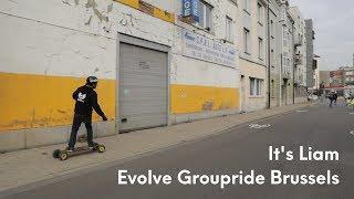 Skating around Brussels with Evolve France 💪 - Evolve Groupride