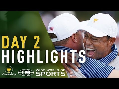 Day 2 Highlights - Presidents Cup 2019 | Wide World of Sports