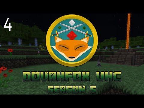 "UHC Minecraft | Dovafox Season 5 | ""The Killer Bunny Trap"" | UHC EP 4"