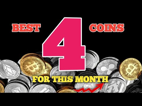 Top 4 Coins For This Month CryptoCurrency Trading Bangla