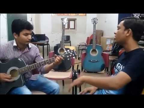 Mujh Mein Tu - Special 26 - Acoustic cover by Vivek and Hiren