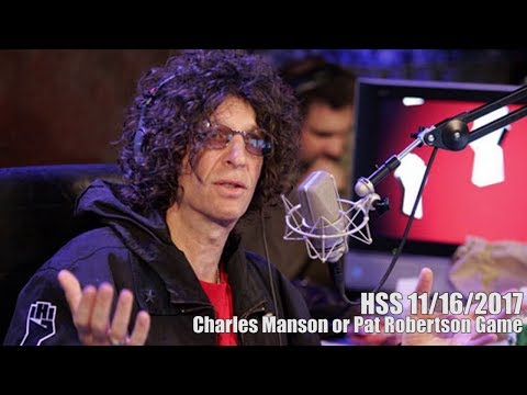 Charles Manson or Pat Robertson Game
