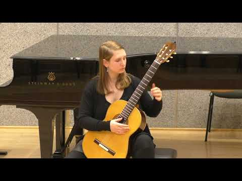 Francesca Agostinis plays Lennox Berkeley: Quatre pieces pour la guitare