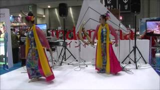 インドネシア伝統舞踊<西ジャワ州ジャイポンガン ダンス>  Aduh Manis Jaipongan Dance From West Java :Tourism EXPO Japan 2014