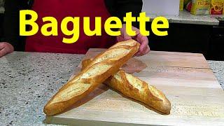 La Receta de la Baguette paso a paso