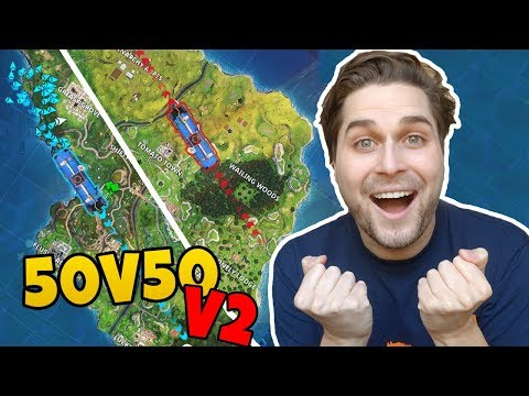 *NEW* NIEUWE GAMEMODE 50V50 V2! - Fortnite Battle Royale (Nederlands)
