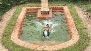 Build Amazing Swimming Pool Underground