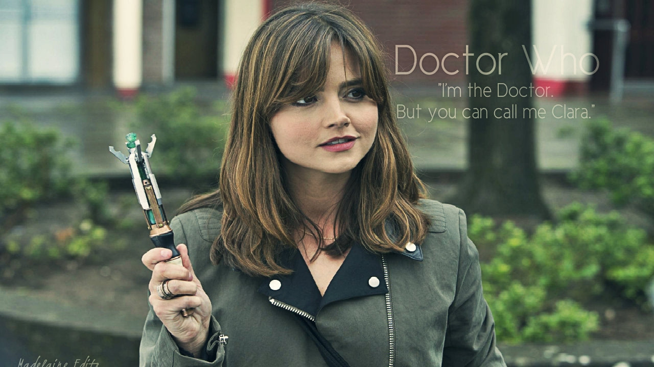 Image result for clara oswald im the doctor