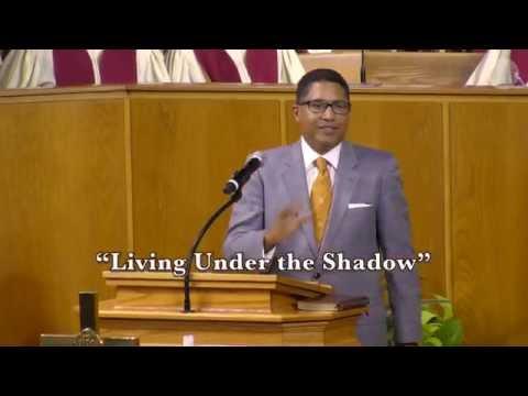 "August 27, 2016 6pm, ""Living Under The Shadow"", Rev Emmett Dunn"