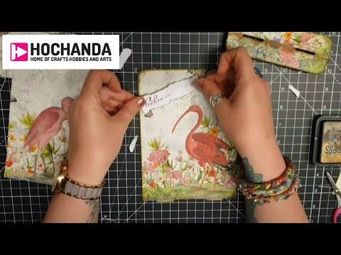 Mixed Media Tutorials, Paper Craft Ideas, Sewing Inspiration And More At Hochanda