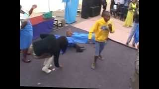Young boy amazes church as he demonstrates the power of the Holy Ghost thumbnail