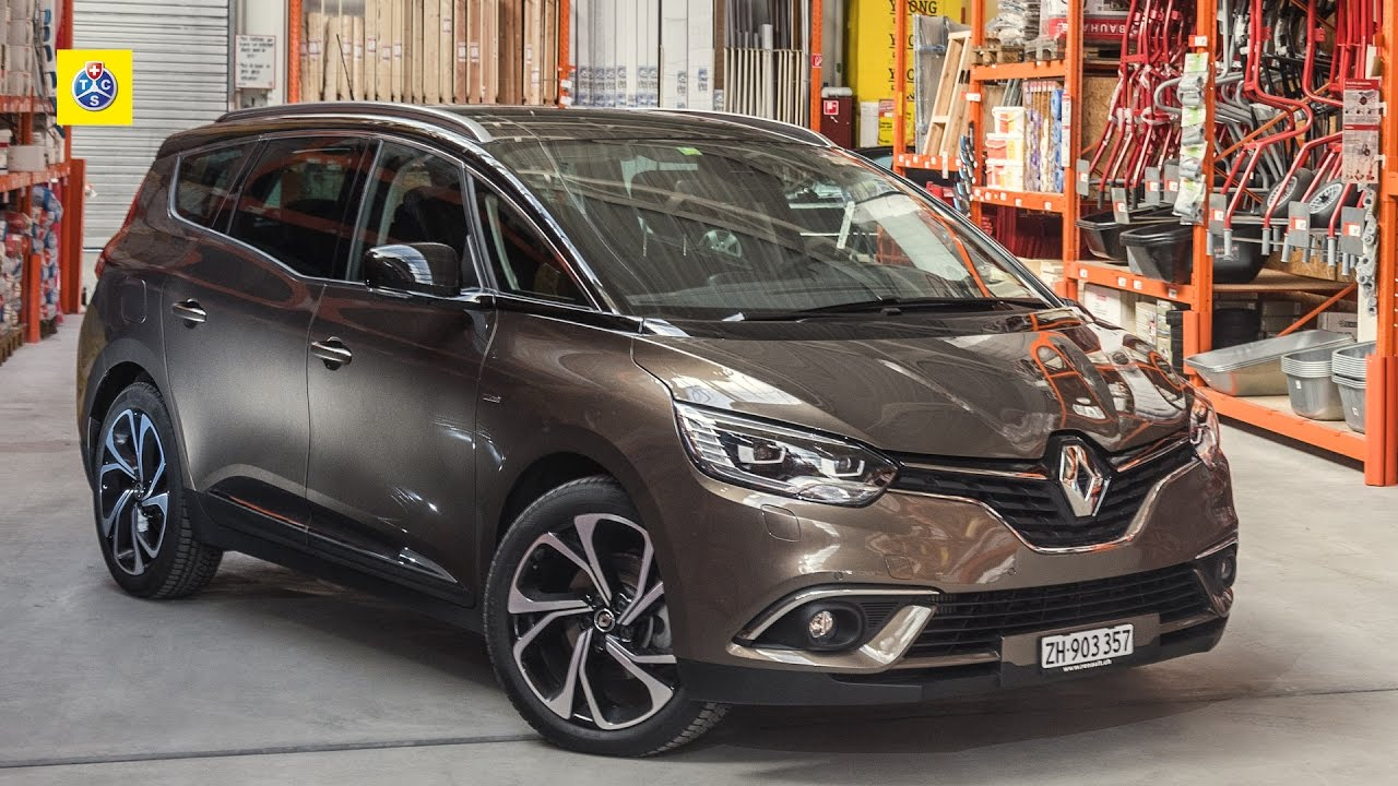 Renault Grand Scenic - Autotest - YouTube