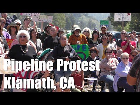 Pipeline Protest - Klamath, CA