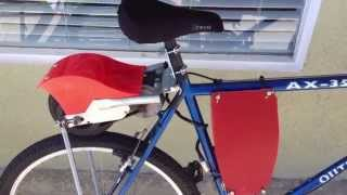 SIMPLE ELECTRIC BIKE PROJECT BUILT FROM RAZOR SCOOTER
